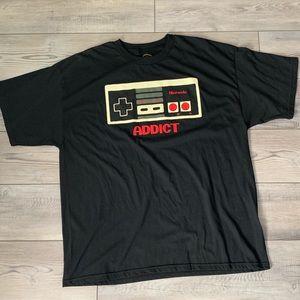 Nintendo oversized graphic T-shirt